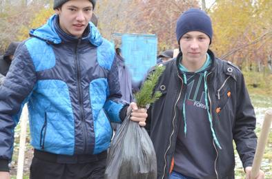 Молодёжная акция за чистоту Коркино