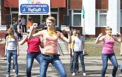 «Весна студенческая» начинает шествие