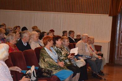Ветераны обсуждали стратегию развития региона