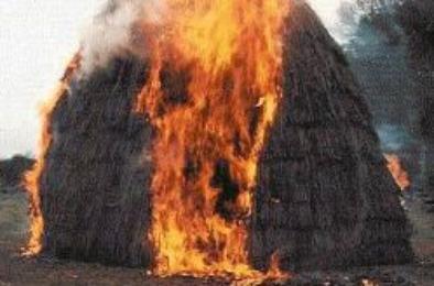 Коркинский район - в числе пожароопасных