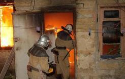 В Коркино при пожаре погибли двое