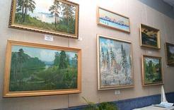 Выставка коркинских талантов