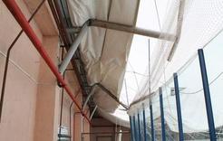 В Коркино ледовый комплекс остался без крыши