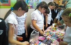 В школе № 3 состоялась традиционная ярмарка