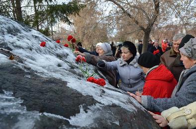 В Коркино почтили память жертв репрессий