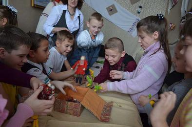 В Коркино прошёл урок народной игрушки