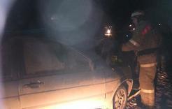 В Коркино произошло лобовое столкновение машин