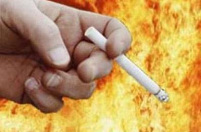 Житель Коркино пострадал при пожаре
