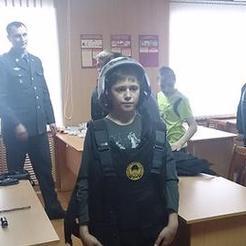 Экскурсия для школьников в отдел охраны