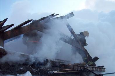 В Коркино за неделю случилось пять пожаров