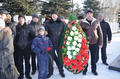 В Коркино почтили память воинов-«афганцев»