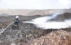 Угольщики применяют новые способы борьбы с эндогенными пожарами