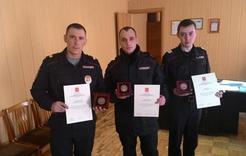 Коркинских полицейских наградили за Олимпиаду
