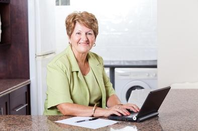 Пенсию можно оформить через Интернет