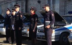 Транспорт полиции Коркино прошёл проверку готовности