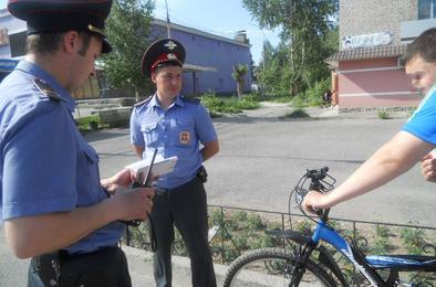 Полиция задержала угонщиков велосипедов