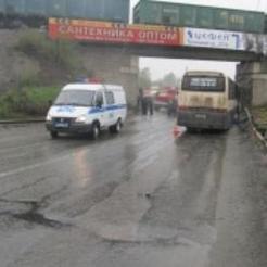 Коркинский автобус попал в серьёзное ДТП