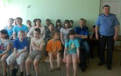 Полицейские рассказали детям о правах и обязанностях