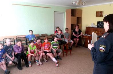 Полицейские Коркино побеседовали с детьми