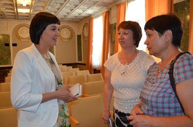 В Коркино побывала детский омбудсмен Челябинской области