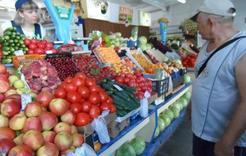 На рынке Коркино начинается сезон продажи овощей и фруктов