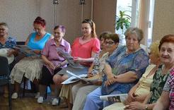 Пенсионеры Коркино строили будущее