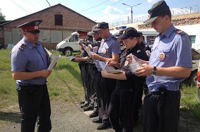 Общественники Коркино дежурили с полицией
