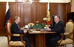 Губернатор встретился с Президентом