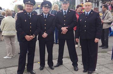 Полиция Коркино обеспечила порядок в День города