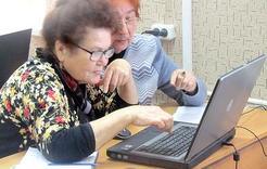 Пенсионеры Коркино освоили компьютер