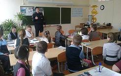Полицейские Коркино побывали в школах