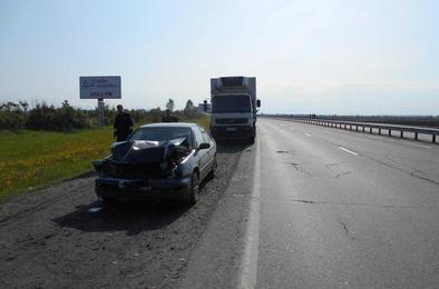 Житель Ульяновска пострадал в ДТП вблизи Коркино