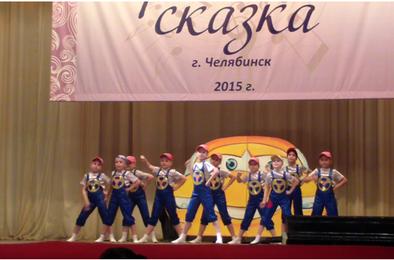Коркинские танцоры отличились на фестивале
