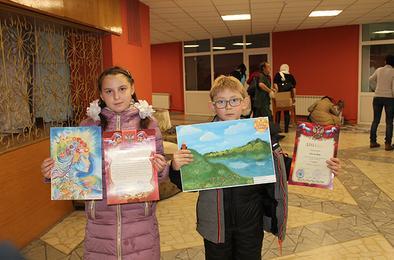 Юные художники Коркино – победители областного конкурса