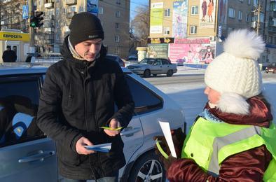 В Коркино почтили память жертв ДТП необычной акцией