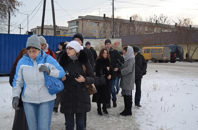 Сегодня Коркино и Розу посетили блогеры