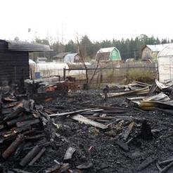 В Коркино в один день произошло два пожара