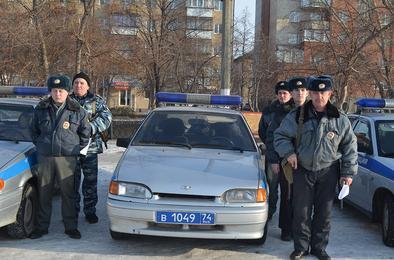 Полиция Коркино обеспечит порядок в Новый год