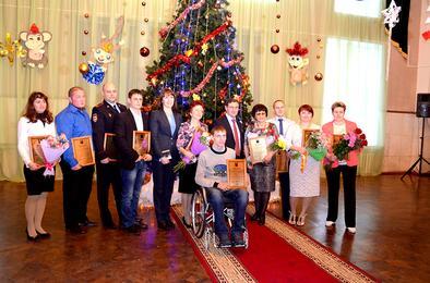 В Коркино вручены премии конкурса «Человек года-2015»