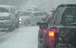МЧС предупреждает южноуральцев о заторах на дорогах