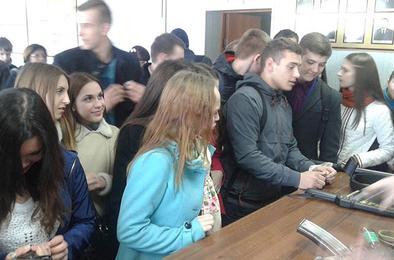 В полиции Коркино высадился «Студенческий десант»