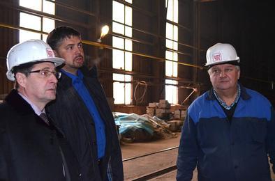 Глава района знакомится с предприятиями Коркино