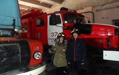 Школьники Коркино побывали в пожарной части