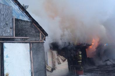 В Коркино на пожаре погиб пенсионер