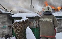 В Первомайском на пожаре погибла пенсионерка
