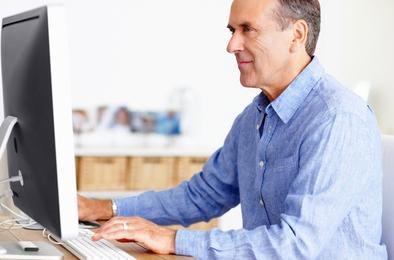 Коркинцы оформили пенсию через Интернет