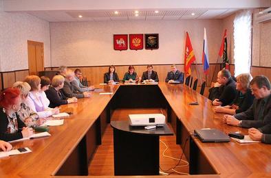 Члены Общественной палаты Коркино встретились с главой района