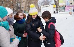 Молодежь Коркино отпраздновала День спонтанного проявления доброты