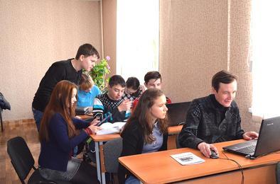 Сегодня в Коркино побывали юные журналисты области