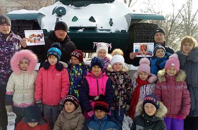 Коркинские первоклассники встретились с «Медведями»